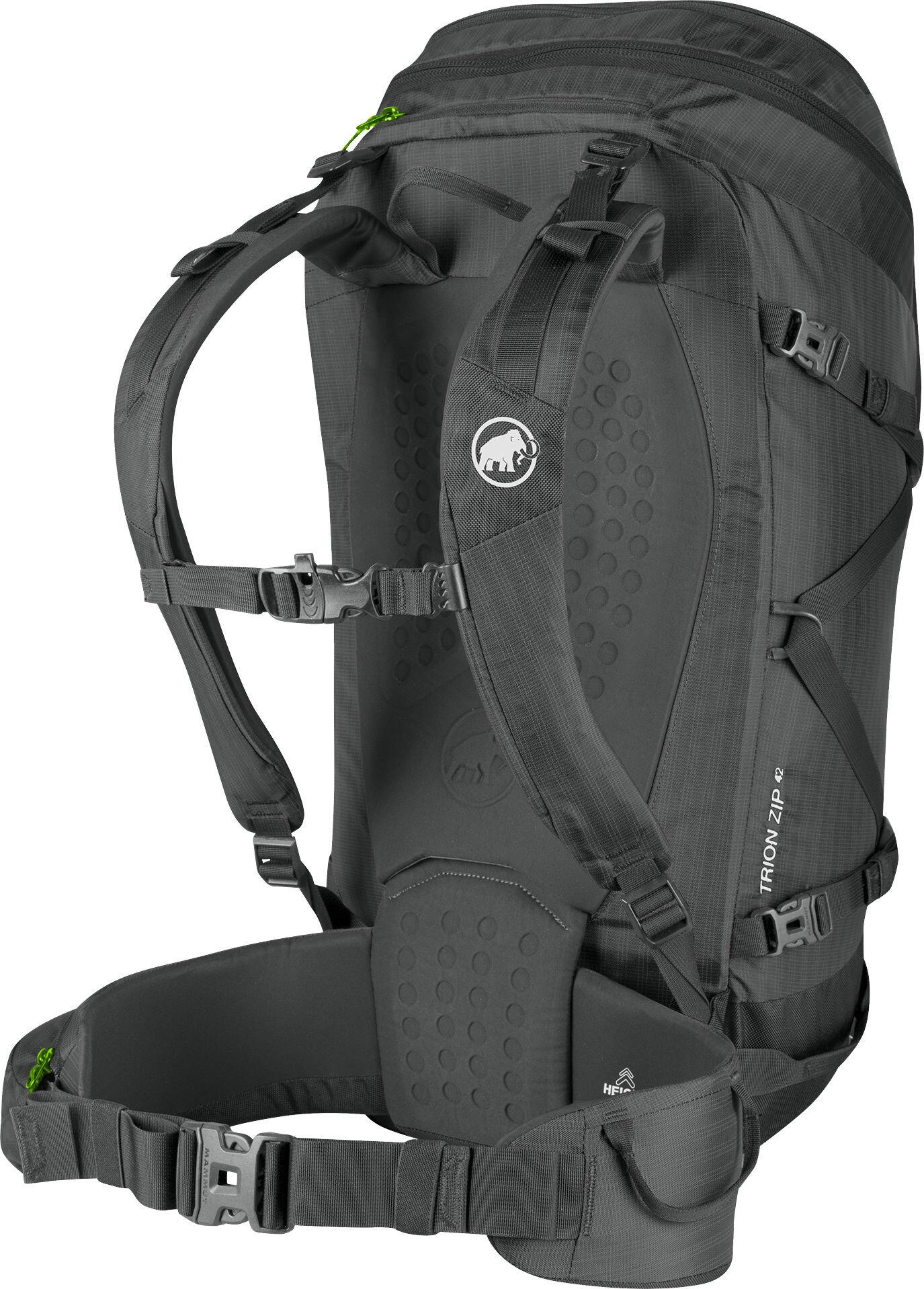 d370a85507443 Mammut Trion Zip 42 Backpack titanium